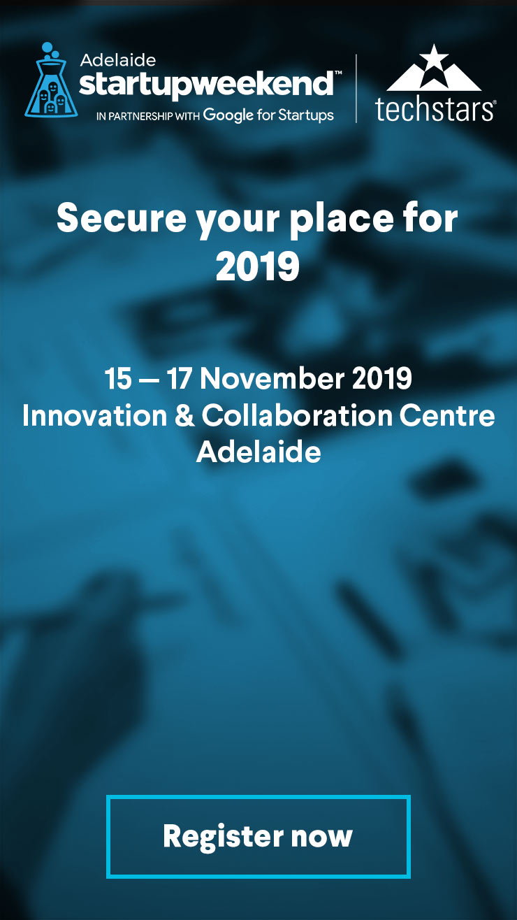 Startup weekend adelaide Register
